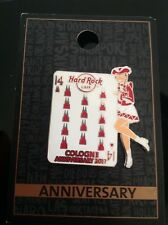 HRC HARD ROCK CAFE Cologne 14th Anniversary (SILVER) PIN 2017, le 100
