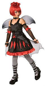 GIRLS BATTY PRINCESS GOTHIC VAMPIRE COSTUME LF3016