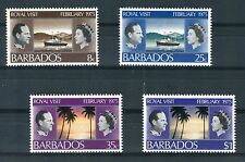Barbados 1975 Royal visit Yvert 393 - 96 MNH