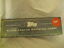Topps 2002 Complete Set of Major League Baseball Cards