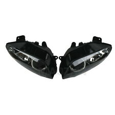 New Pair Black Head light Lamp Assembly For Yamaha YZF R1 1000 2004-2006 2005