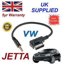 Genuine VW JETTA MMI 000051446D 3.5mm Jack MP3  iPod in car Cable replacement