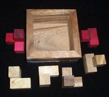 Packing Predicament wood brain teaser puzzle