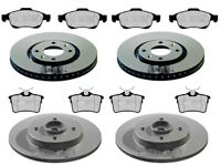 CITROEN BERLINGO 1.6  VTI HDI BRAKE DISCS AND PADS FRONT & REAR 283MM MUST CHECK