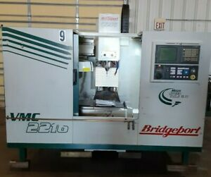 Bridgeport VMC 2216 with GE Fanuc 21iM Control