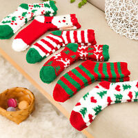 Christmas Women Ladies Soft Fluffy Socks Warm Winter Cosy Lounge Bed Xmas Gifts