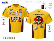 More details for nascar kyle busch joe gibbs racing team collection yellow pit crew t-shirt 2021