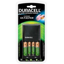 Duracell 45min Fast Battery Charger with AA and AAA Ni-Mh Rechargeable Batteries