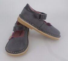Vertbaudet Grey Mary Jane Shoes UK 7 EU 24 CH02 61