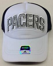 NBA Indiana Pacers Adidas Womens Mesh Back Snap Back Cap Hat Beanie Style   VS88W 6ad049bd6690
