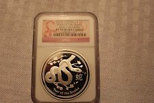 2013-P $1 AUSTRALIA Lunar SNAKE NGC PF70 ER Early Releases 1 oz Silver Proof ~~