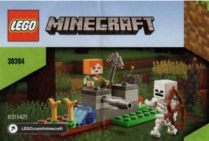 Lego Mindcraft  - The Skeleton Defense 30394 Polybag - New & Sealed