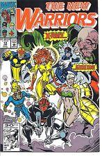 Marvel #019 - Jan 92 - The New Warriors - 5.0 - Used