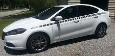 Cuda Side body Stripe Stripes Decal Decals Graphic Stripes fit 2013+ Dodge Dart