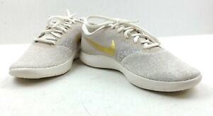 Nike Women's Flex Contact 'String Metallic Gold' Sneaker Size 10