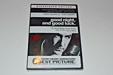 SEALED - Good Night, And Good Luck (DVD, 2006) Widescreen Edition George Clooney