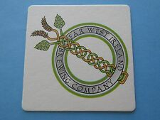 Beer Collectible Coaster ~ FAR WEST IRELAND Brewing Co ~ WASHINGTON ** 2001-2009
