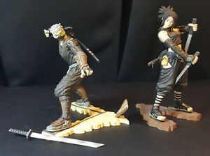 Tenchu action figures - Rikimaru and Ayame (pre-owned) (no boxes)