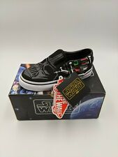 Vans 2014 Star Wars Darth Vader Classic Slip-On Shoes 9Y - BRAND NEW