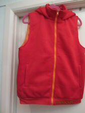 stormsy grime cool old skool hip hop retro look red/orange /hoodie /gillet small