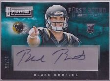 2014 Playbook First Round Edition Blake Bortles Auto Rc Serial # to 75