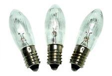 30 Topkerzen Riffelkerze 14V 3W  E10 Ersatzlampe Partylampen Gartenbeleuchtung