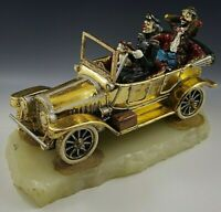 RON LEE VINTAGE 1988 LUXURY LIMO SERVICE CAR & CLOWN LARGE SCULPTURE