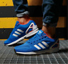 Adidas Originals Mens ZX Flux Shoes Trainers Blue/White/Solar Red FW0028 UK 8