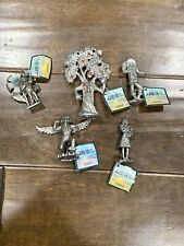 Lot Of 5 Land Of Oz Mini Pewter Figurines