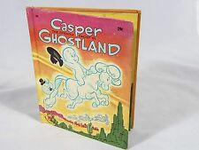 Casper The Friendly Ghost in Ghostland - Wonder Books - 1965