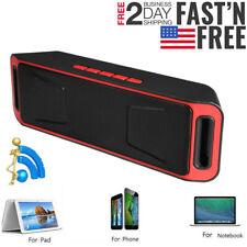 Outdoor Super Bass Stereo Mini Speaker TF/USB/AUX Cell Phone Laptop Car Speaker