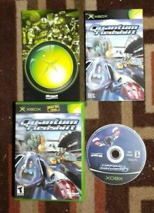 Quantum Redshift Complete (Microsoft Xbox, 2002) VG Shape & Tested