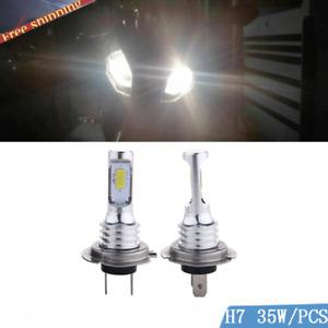 2x White LED Bulbs Headlight Conversion Kit for BMW S1000RR S1000XR 2009-2018
