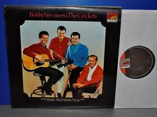 Bobby Vee meets The Crickets England Sunset early press Vinyl LP cleaned