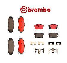 For Acura TL 3.2L V6 1999-2008 Brembo Front & Rear Brake Kit Pads