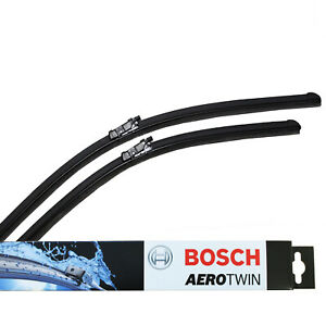 FOR AUDI A4 A5 A7 Q3 Q5 NEW Genuine BOSCH A298S Aerotwin Front Wiper Blades Set