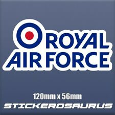 RAF Royal Air Force Logo Vinyl sticker, UK Army, special force, badge S172