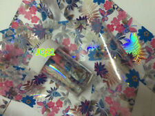 HOT Nail Art Transfer Foil Nail Sticker Polish Decal Tip Decoration Easy DIY E21