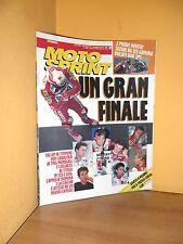 MotoSprint - n° 31 - 29 Luglio/4 Agosto 1992 - Cadalora/Un gran finale - Rivista