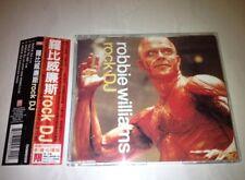 Robbie Williams 2000 Rock DJ Taiwan OBI 4 Track CD Single with Enhanced Video