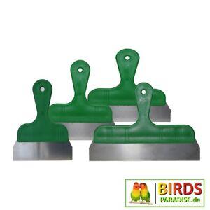 Handspachtel Rakel mit Kunststoffgriff grün - Größe 16, 20, 25 u. 30cm