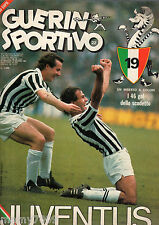 GUERIN SPORTIVO=N°22 1981=GOL STORY JUVE=POSTER JUVE=PELE'=JOHN WARK=