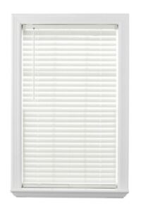 Better Homes & Gardens 2-inch Cordless Faux Wood Blinds, Antique White - 27 x 64