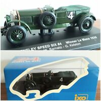 IXO LM1930 Bentley Speed Six #4 - Le Mans Winner 1930 1/43 Scale