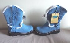 BNWT GIRLS SMOKY MOUNTAIN WINTER BOOTS SIZE 13 LEATHER
