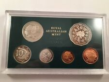 1982 Australian Proof Coin Set XII Commonwealth Games