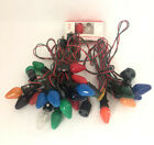 Paramount Decorative Lighting Outfit String Bulb Christmas Lights Indoor C7 VTG