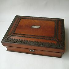 COFFRET ANCIEN BOITE COUTURE début XIXè Epoq 1er EMPIRE 1810 Antique SEWING Box