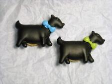 New listing 2 Vintage Scottie Dogs Button Covers - great condtion