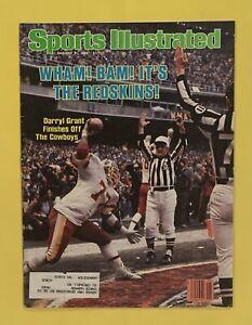 1.31.1983 DARRYL GRANT Sports Illustrated WASHINGTON REDSKINS - MIAMI DOLPHINS